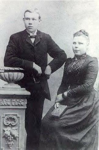 Hans Peter Hansen and Trina Hansen
