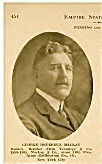 George Devereux MacKay, NY