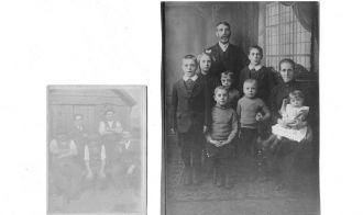 George Salt & Sarah Bartley family