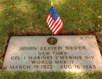 John Lloyd Silver gravesite