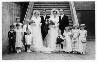 Unidentified Wedding Photo