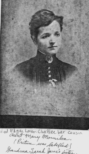 A photo of Mary Mornilva Chaffee
