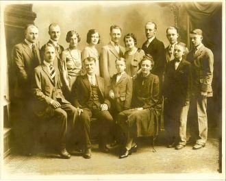 Henry & Anna Halverson Family