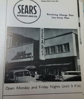 Sears Roebuck and Co. in Hamilton, Ohio