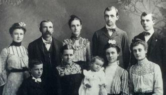 Sallie Green Ashworth family
