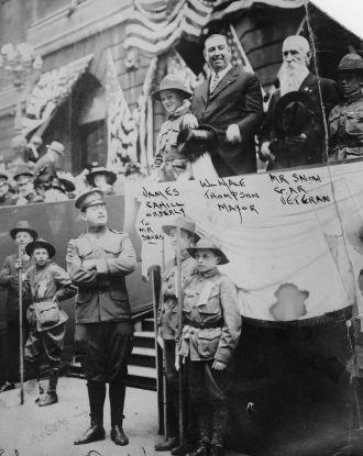 J.S.Sachs, Scoutmaster, Chicago Illinois