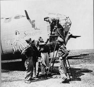 Nick Parrino Photo: Snow White B-24 bomber