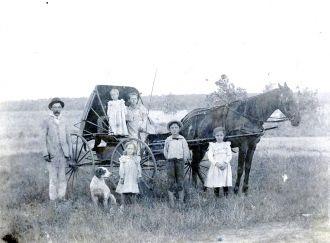 Robert Greene Family, Missouri