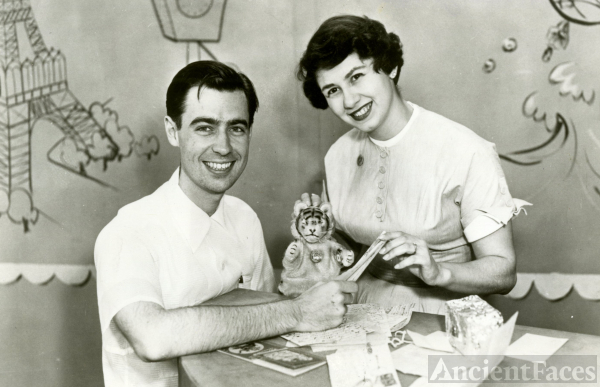 Joanne and Fred M Rogers