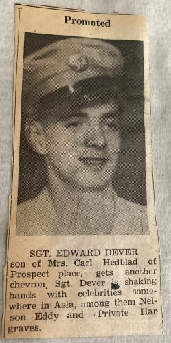 Edward T Dever