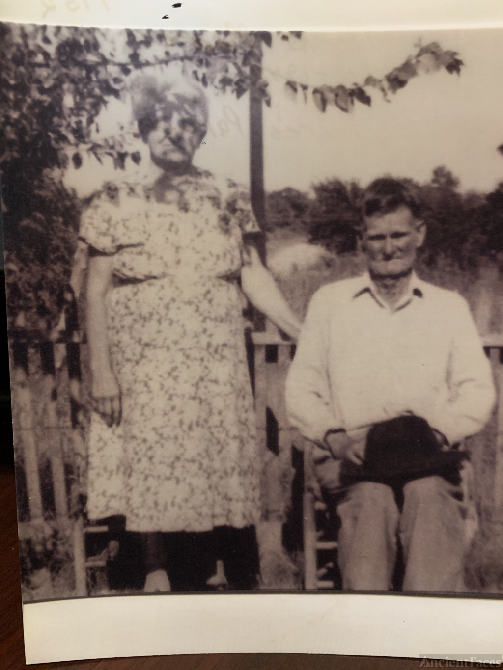 William Thomas Moore and L Pauline Boyd Moore My great grandparents