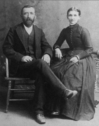 John & Elizabeth (Gunn) Sutton, VA 1885