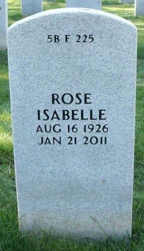 Rose Condino Isabelle gravesite