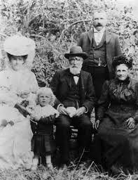 Glaud Pender family