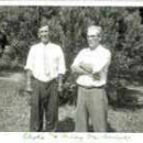 Photo from 1951 of Clyde E McDaniel b. 1897 and Marshall Michael McDaniel b.1902, d.1981