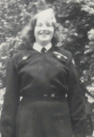 Bette Lynn Gula Davis - Girls Auxiliary Military Service [GAMS]