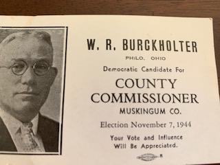 Business Card W. R. Burckholter