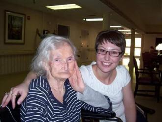 Nina Martin and Sarah Davidson