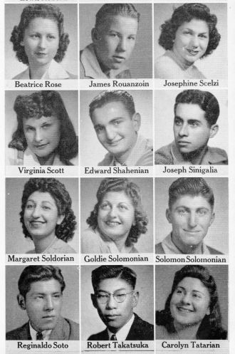 Beatrice Rose 1942 CA and Seniors from Fresno