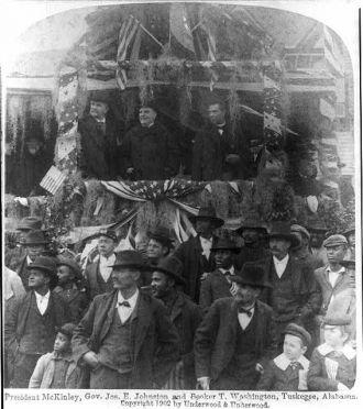 President McKinley & Booker T. Washington