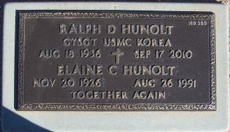 Ralph Dean Hunolt