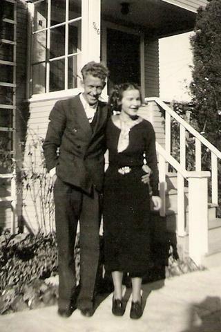 Willard Woodrow & Mary Margaret Dunn Richards