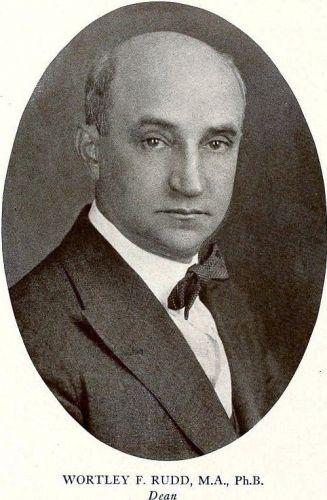 Wortley F. Rudd, VCU Medical College, 1923