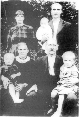 Garner & Mary (German) Davenport Family