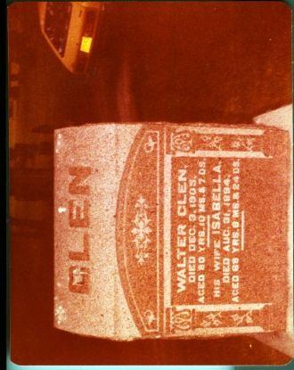 Glen Headstone