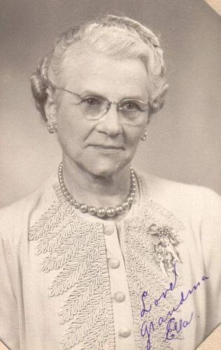 A photo of Ella Erdine Thompson-Greenleaf