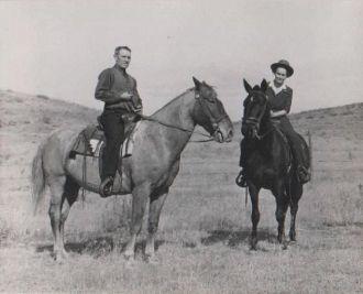 Thomas Carr and wife Edith Carr