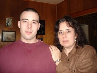 Donna and her son, Benjamin