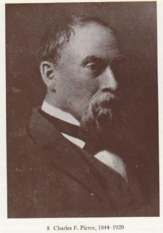 Charles F Pierce 1844 - 1920