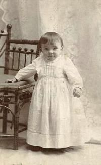 Mary Leona Smith, infant