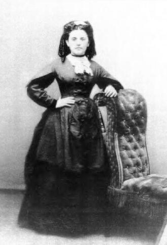 Mary Coogan Kelley, circa 1874