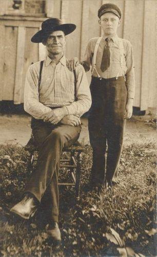 Robert Henry Quail (L) & Elbert Joshua Qail