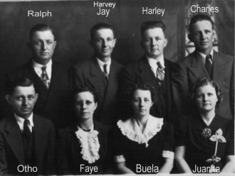 Children of Betty and Arthur Powell Helms.
