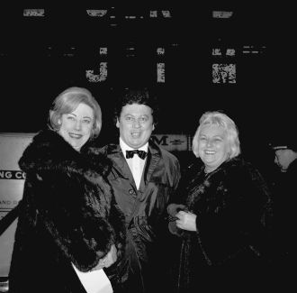 Rosemary Wilson, Marty Allen, wife