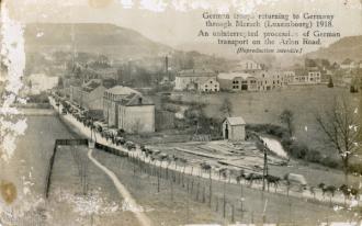 German troops returning home