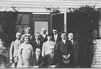 Hans & Marin Anderson Family, 1930