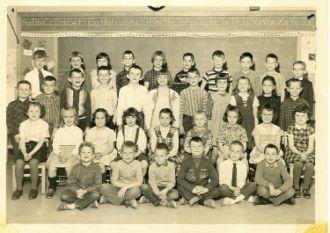 Elem. school in Lisbon Falls, ME 1964