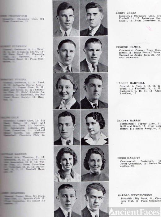 John Goldberg, 1937 Anaconda High, Montana