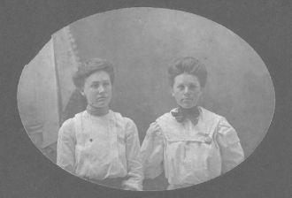 Hattie Mizer Terry and Chlora Webb