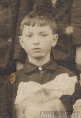 Louis Titsler, school boy