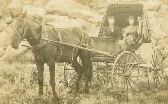 Ollie O. Leverett 1913 Postcard