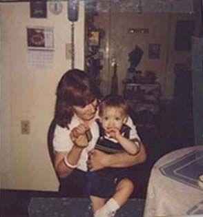 Holding her Grandson