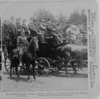 William McKinley, San Francisco 1901