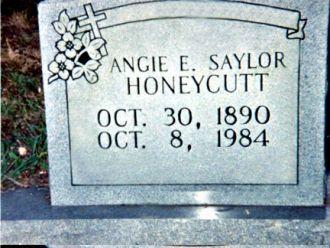 Gravestone Of Saylor