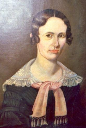 Eliza (Herrington) Lansing, 1840