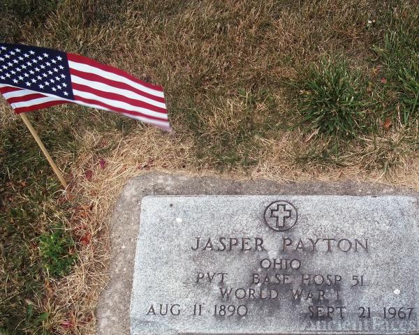 Jasper Payton gravesite